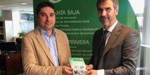 Antonio Román mantiene una reunión con el sindicato CSIF en su nueva sede de Guadalajara