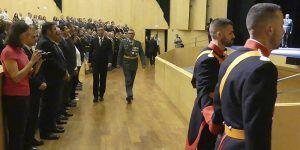 Canales destaca el papel de la Guardia Civil como garante de la seguridad y vertebrador del territorio