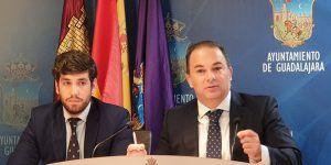 """Carnicero """"La primera medida económica del alcalde Alberto Rojo será subir los impuestos a los vecinos de Guadalajara para 2020"""""""