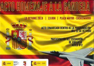 Casasimarro llevará a cabo un homenaje a la bandera el próximo 19 de octubre