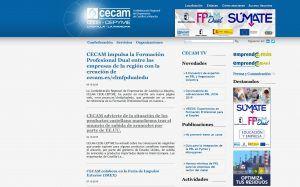 cecam ceoe cepyme pone en marcha una nueva página web marco de referencia de la formación profesional dual en nuestra región   Liberal de Castilla