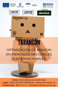CEOE-Cepyme Tarancón celebra este martes una jornada sobre Amazon y mercados internacionales