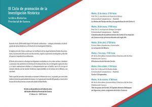 El Archivo Histórico de Cuenca retoma su ciclo de conferencias con la titulada Carlos V, emperador