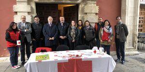 El Ayuntamiento de Cuenca se suma al Día de la Banderita de Cruz Roja