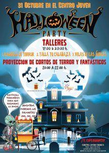 El Centro Joven de Cuenca celebrará su fiesta de Halloween con talleres y proyección de cortos de terror y fantásticos