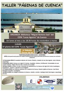 """El CEPA """"Lucas Aguirre"""" organiza la segunda edición del taller """"Páginas de Cuenca"""""""