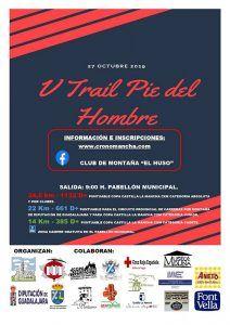El domingo 27 en Molina de Aragón , V Trail Pie del Hombre, penúltima prueba del Circuito de Carreras de Montaña de Diputación de Guadalajara