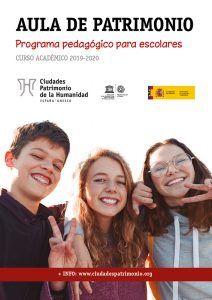 El Grupo de Ciudades Patrimonio convoca la séptima edición de su programa pedagógico para escolares Aula de patrimonio
