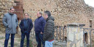 El patrimonio y la prestación de los servicios básicos centran la jornada de trabajo del delegado de la Junta en la comarca de Molina de Aragón