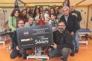 El VI Vermú Solidario de las Fiestas de Guadalajara recauda más de 25.000 euros para la Fundación Nipace