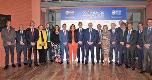 Eurocaja Rural celebra el dinamismo del empresariado de la región en los XVI Premios CECAM