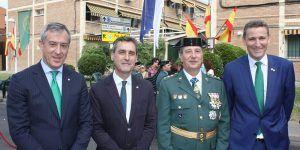 Eurocaja Rural felicita a la Guardia Civil el día de su patrona