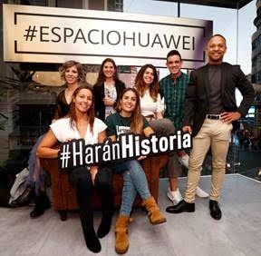 Huawei presenta, junto a Unidad Editorial, su proyecto de mecenazgo deportivo 'Harán Historia'