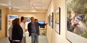 Inaugurada en Cabanillas la exposición de las obras ganadoras de los II Premios de Fotografía y Mini Documentales con Dron