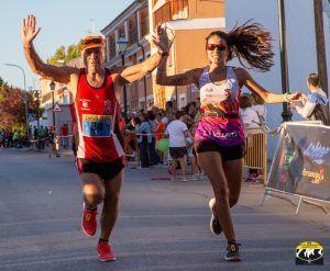 """Ismael Mingo y Paola Niño se imponen en la carrera """"Tierra del Vítor"""", penúltima prueba del XVII Circuito de Carreras Diputación de Cuenca 2019"""