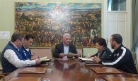 José Luis Vega firma convenios con seis entidades para promover el deporte en Guadalajara