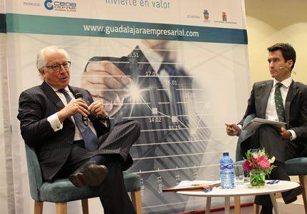 """Juan María Nin Génova cierra el ciclo de desayunos económicos de """"Guadalajara Empresarial"""" 2019 con aforo completo"""