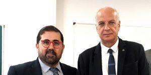 Juan Rodríguez acompaña al director general de la Oficina del Alto Comisionado para la Agenda 2030 en su visita a Cuenca