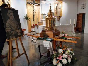 La diócesis de Cuenca recibe las reliquias de Santa Bernardita