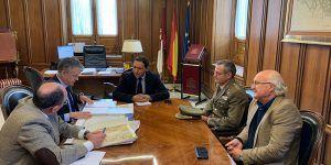 La Diputación colaborará en la elaboración de una guía sobre la historia militar de la provincia de Cuenca