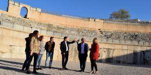 La Diputación de Cuenca contará con los ayuntamientos de la zona para dinamizar Segóbriga
