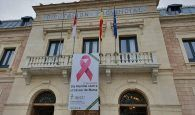 La Diputación de Cuenca se iluminará todo el fin de semana de rosa para visibilizar la lucha contra el Cáncer de Mama