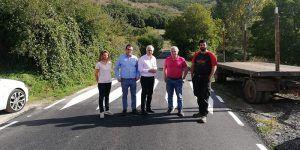 La Diputación de Guadalajara invierte más de un millón de euros en mejorar 25 km de carreteras en la punta noroeste de la provincia