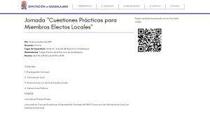 La Diputación de Guadalajara organiza una jornada para electos locales