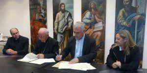 La Diputación de Guadalajara y el Obispado firman dos convenios para restauración de iglesias y promoción del Museo de Arte Antiguo de Sigüenza