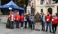 La Diputación Guadalajara muestra su apoyo a Cruz Roja en el Día de la Banderita