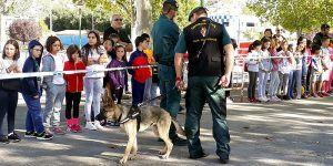 La Guardia Civil de Cuenca celebra los actos de la Patrona y del 175º aniversario ante casi 500 escolares