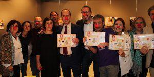 La Junta acompaña a los Payapeutas, Payasos de Hospital en la celebración de su 10º aniversario