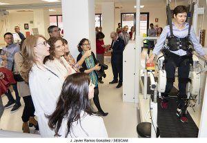 La Junta destaca el trabajo de pacientes y profesionales para lograr la rehabilitación integral de las personas que sufren Daño Cerebral Sobrevenido
