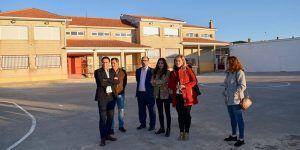 La Junta realiza mejoras en el colegio de Saelices dentro de la apuesta por la mejora de los servicios públicos