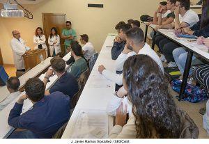 Los alumnos de tercero de Medicina y Ciencias de la Salud de la Universidad de Alcalá se incorporan para realizar sus prácticas en el Área Integrada de Guadalajara