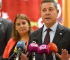 Page apremia a Torra a condenar la violencia en Cataluña y muestra su apoyo al Gobierno central para mantener el orden constitucional