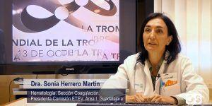 Profesionales del Hospital de Guadalajara elaboran un vídeo con el que dar a conocer y apoyar la prevención de la enfermedad tromboembólica