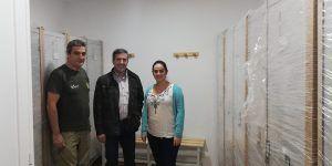 Rodrigo Molina visita la demarcación de los Agentes Medioambientales de Villalba de la Sierra ubicada en Sotos