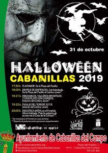 Todo listo para la gran fiesta de Halloween 2019 en Cabanillas del Campo