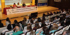Unas 300 personas se reúnen en el Hospital de Guadalajara para reflexionar sobre el futuro de la reanimación cardiopulmonar y sus posibilidades de mejora