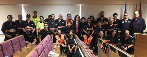 Voluntariado de ocho agrupaciones de Protección Civil de Guadalajara participa en un curso sobre el uso del desfibrilador externo automático