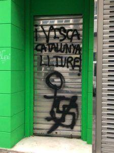 VOX Cuenca denuncia actos vandálicos en su nueva sede de Carretería