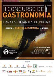 """Ya está en marcha el II concurso de gastronomía """"Cuenca Abstracta"""" para estudiantes de escuelas de hostelería"""