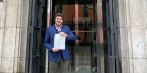 """Ángel López Maraver (VOX) asegura que """"se inicia un nuevo tiempo político para Guadalajara""""."""