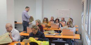 Arranca en Cabanillas el curso de reciclaje digital para mayores de 55 años