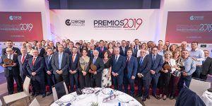 """CEOE-Cepyme Guadalajara entrega sus Premios Excelencia Empresarial 2019 durante la gran noche de la """"Economía Alcarreña"""""""