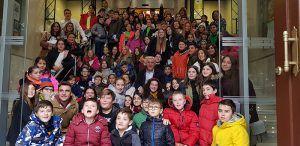 Cien niños de la provincia de Guadalajara celebran en la Diputación el 30 aniversario de la Convención sobre Derechos del Niño
