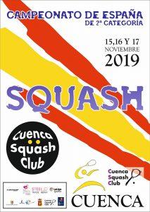 Cuenca acoge el Campeonato de España de Squash de Segunda Categoría