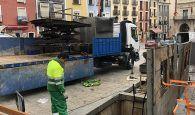 El Ayuntamiento de Cuenca sustituye los contenedores soterrados de diferentes zonas de la ciudad