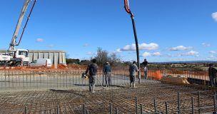 El nuevo depósito de agua potable de Mondéjar estará operativo el próximo mes de abril